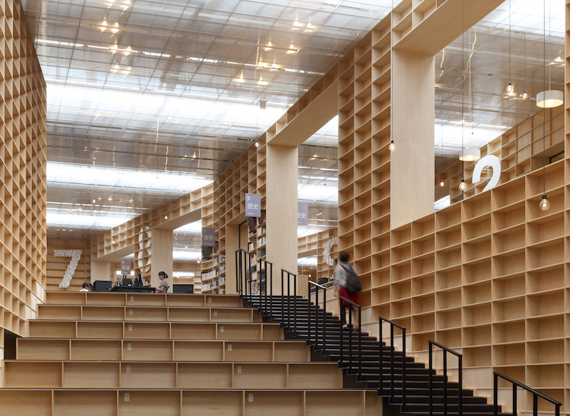 Musashino Art University Library_credit_Daici Ano