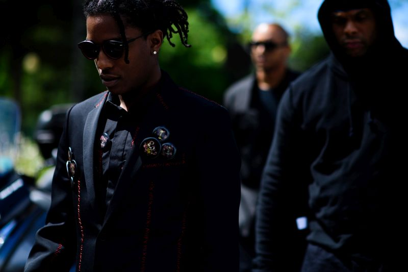 ASAP Rocky wearing DiorMagnitude01 sunglasses-3