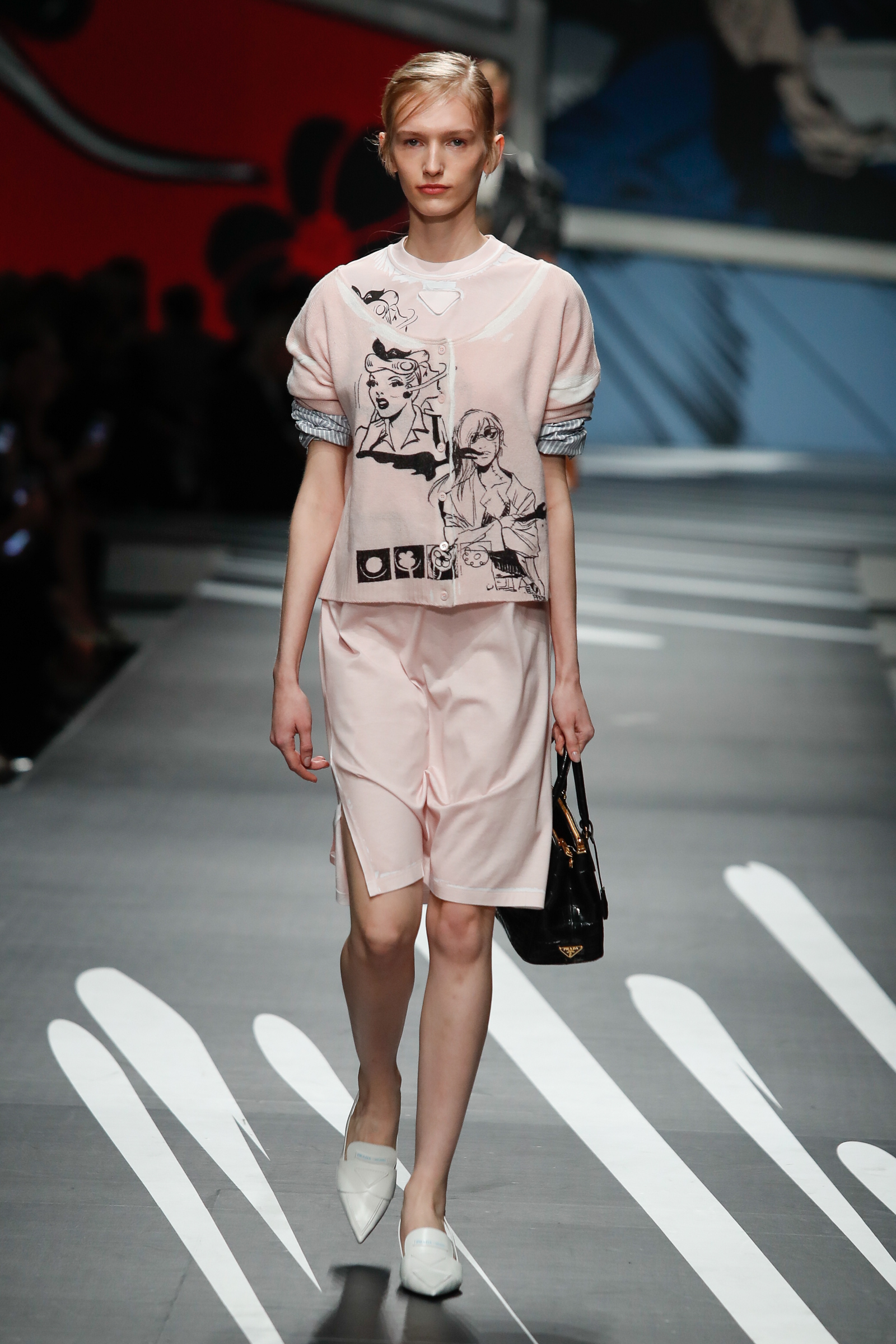 dc4fa8fc4f09 Preppy Prada: Spring/Summer 2018 Collection - MODERN CULTURE OF ...