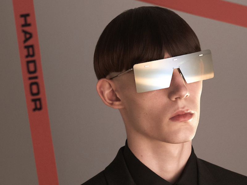 a9aa20f57f The Winter Must Have - Hardior Homme New Collection Sunglasses - MODERN  CULTURE OF TOMORROW MAGAZINE