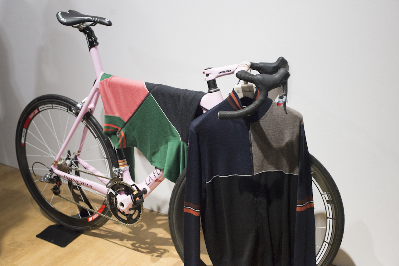 Paul Smith AW16 LCM - bike and Merino top